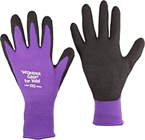 Wonder Grip (KWG515ACXXS) Nicely Nimble for Kids Gloves, XX-Small (Color May Vary)