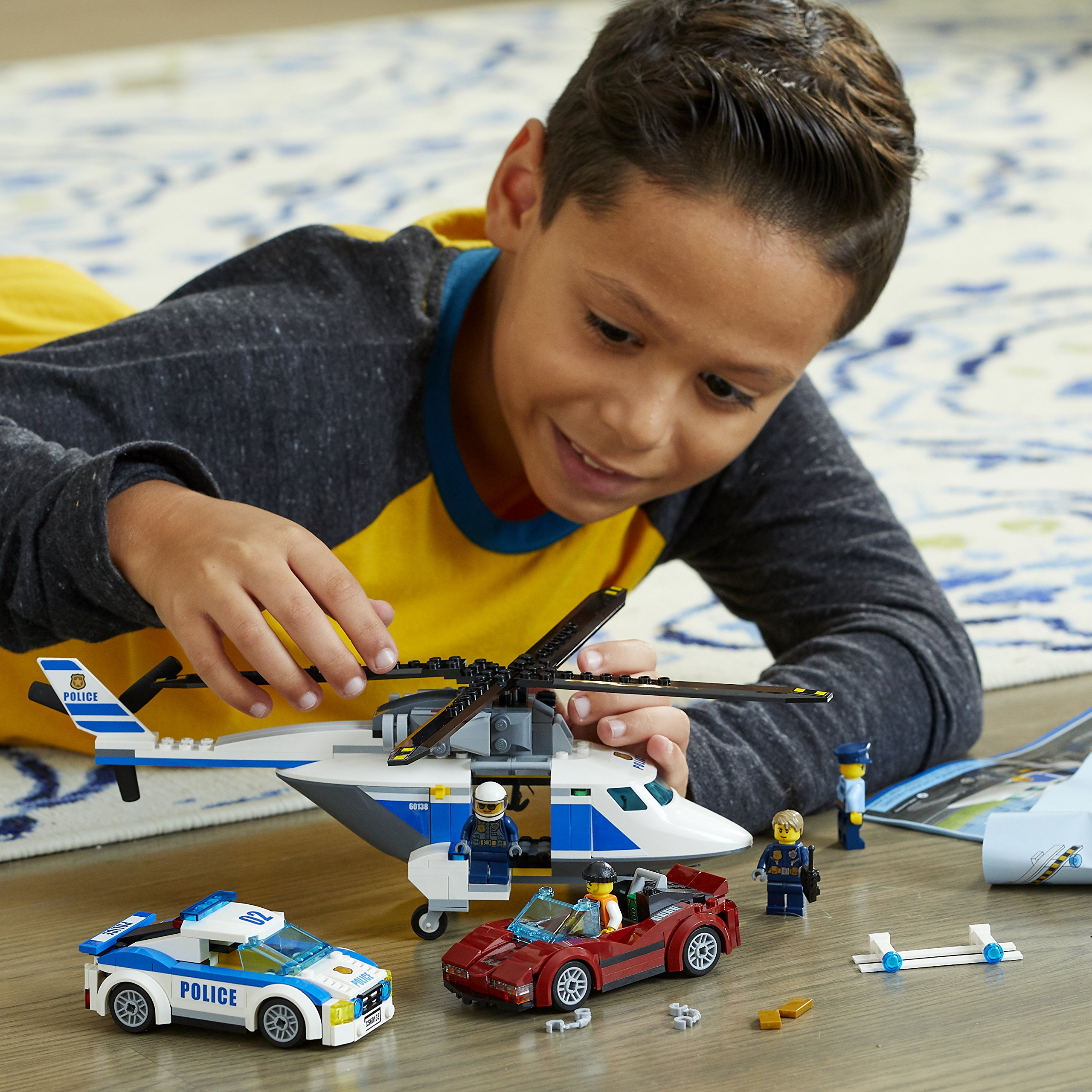 LEGO City Police High-Speed Chase 60138 Building Toy by LEGO (Image #4)