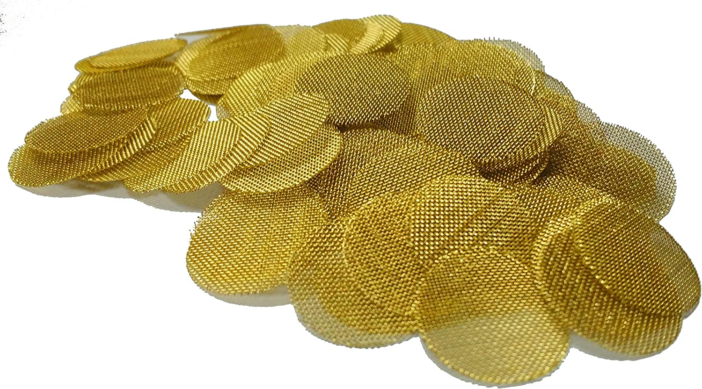 "Grimm SUPA 50 Brass Screens Pipe Filters - 3/4"" (.75) Pipe Screens"