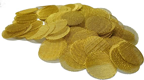 Grimm SUPA 50 Brass Screens Pipe Filters - 3/4