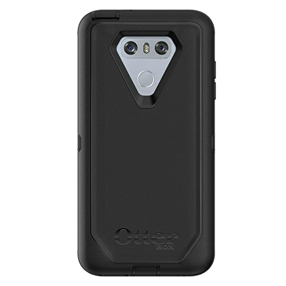 online store 5d78b c8754 OtterBox DEFENDER SERIES Case for LG G6 - Retail Packaging - BLACK