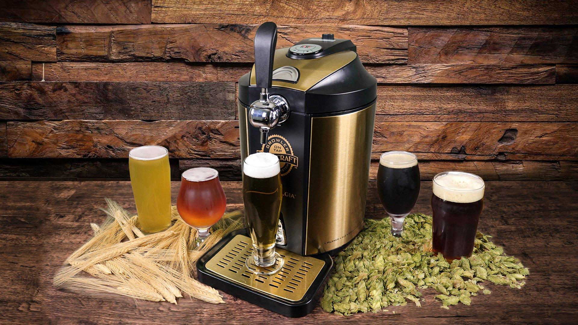 Nostalgia CBD5 Homecraft On Tap Beer Growler Cooling System by Nostalgia (Image #7)