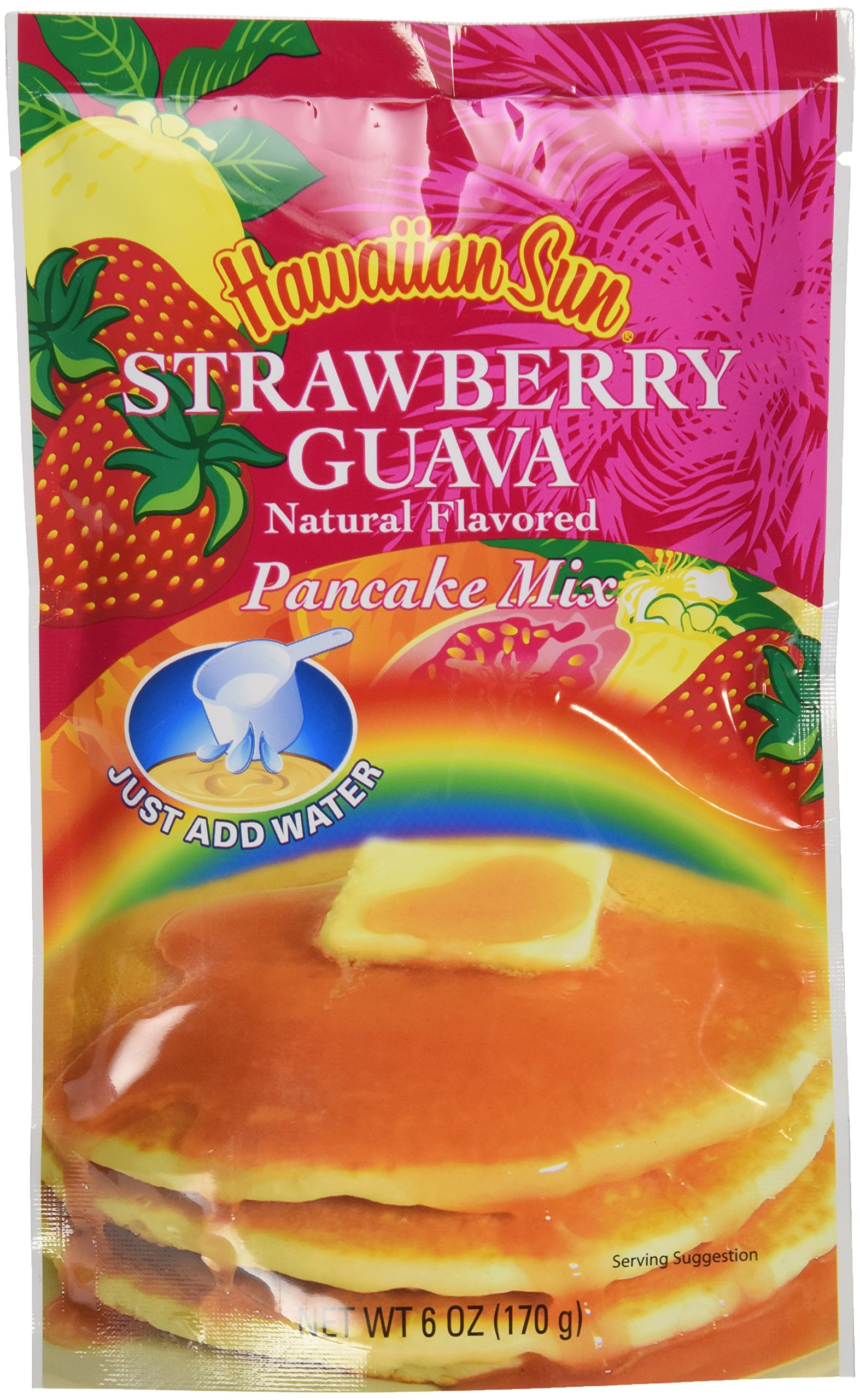 amazon com hawaiian sun guava fruit syrup from hawaii maple