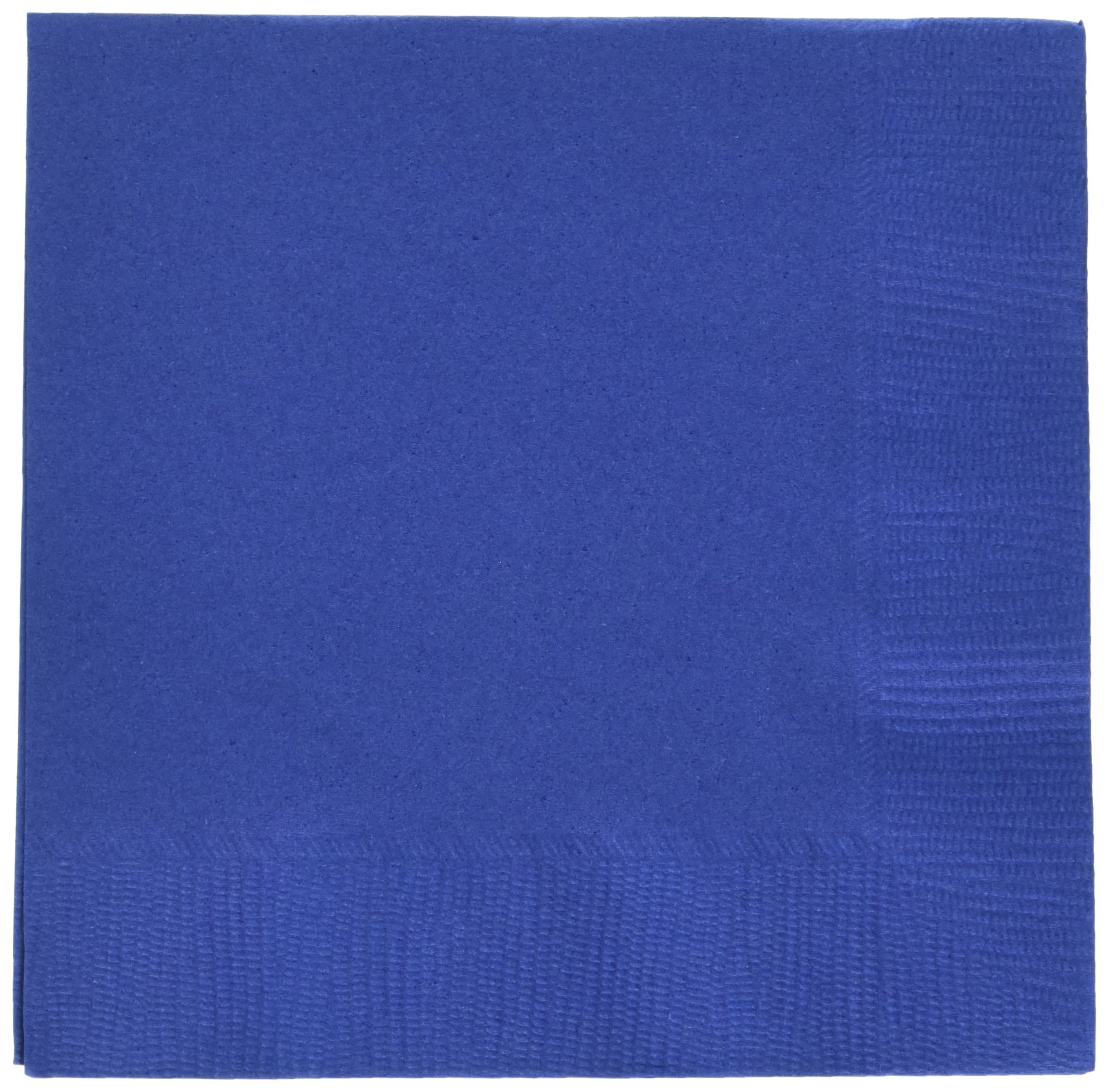Navy Blue 3-Ply Beverage Napkins | Pack of 20 | Party Supply