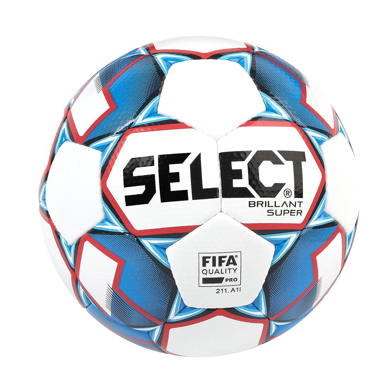 SELECT Brillant Super Balón de fútbol, tamaño 5, Color Blanco ...