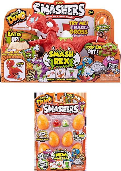 Zuru Dino Smashers 8 Pack RANDOM PACK SUPPLIED