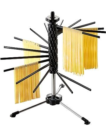Gefu GE28370 Diverso – Secador de Pasta de Acero Inoxidable Negro 44 x 44 x 47