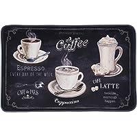 "J&V TEXTILES Relax Series Series 20""x30"" Antifatigue Kitchen Mats (Cappuccino Latte Mocha)"