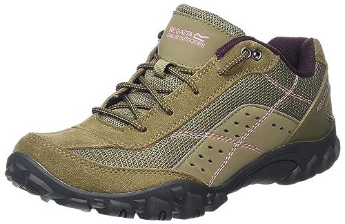 Regatta Lady Stonegate, Womens Low Rise Hiking Boots, Beige (Walnt/DuskyR)