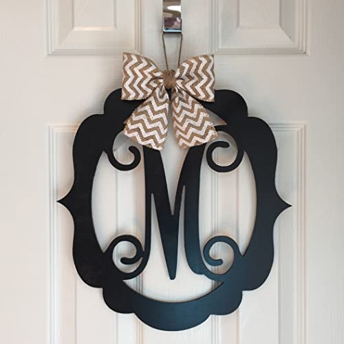 Incroyable Monogram Door Hanger   Spring Door Hangers   Wood Scoll Door Hanger    Spring Door Decoration