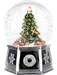 Snow On Christmas.Shop Amazon Com Snow Globes