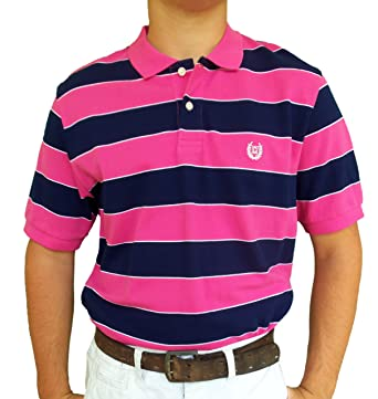 S S Pacific Bay Polo In Pink Coral By Chaps At Amazon Men S Clothing