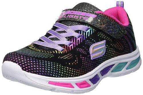 7040285d31bb Skechers Kids Girls  Litebeams-Gleam N Dream Sneaker
