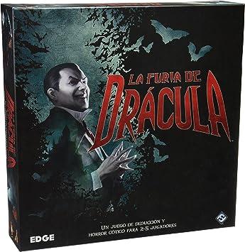 La Furia de Drácula - Juego de estrategia (Edge Entertainment EDGGW09): Amazon.es: Juguetes y juegos