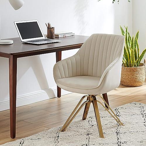 Volans Mid Century Modern Swivel Accent Desk Chair