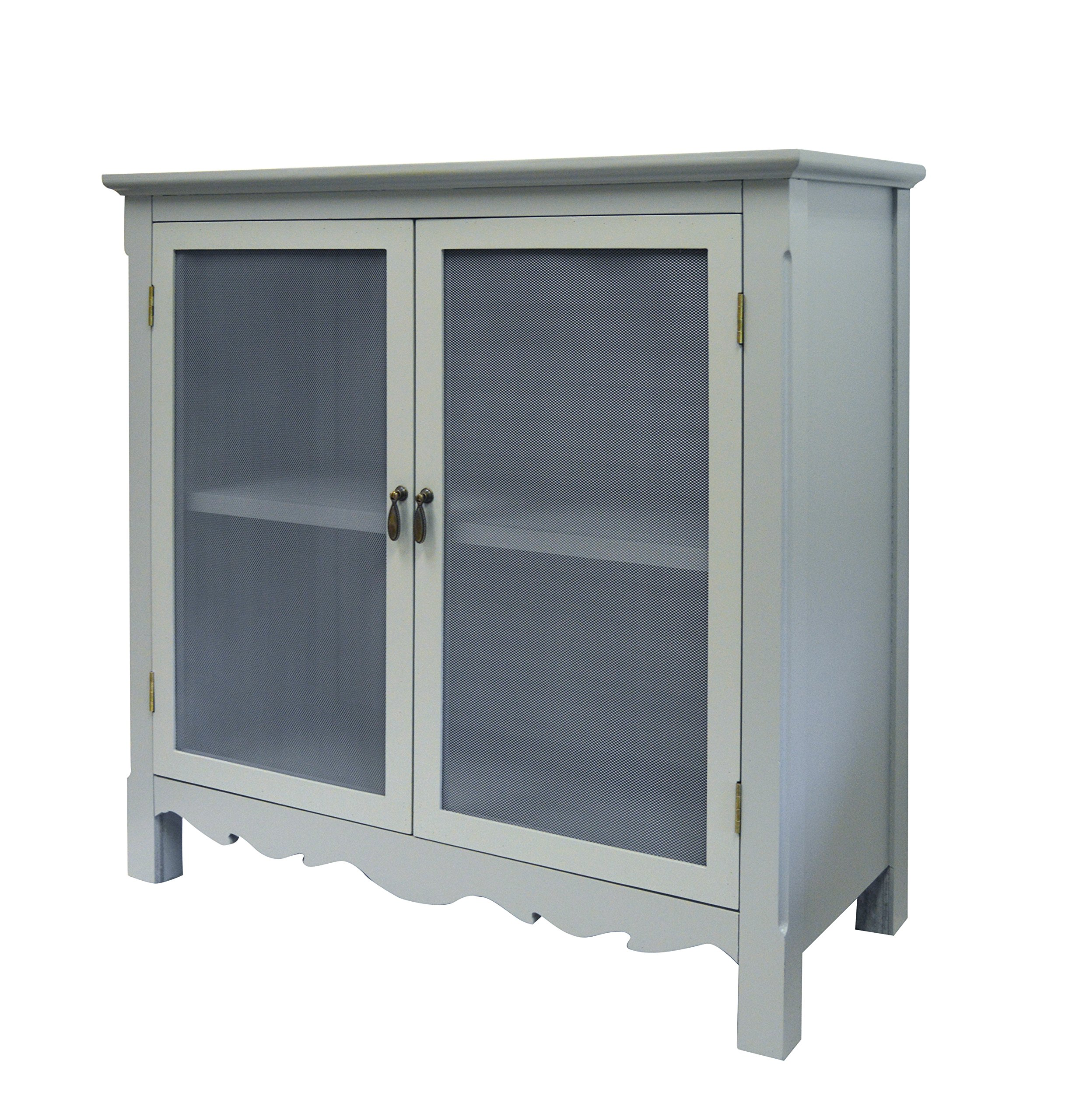 GRAY CHARLESTON CABINET by Haven Home Décor (Image #1)