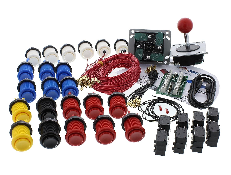 ArcadeWinkel High-quality Arcade Starterpack kit 2 players