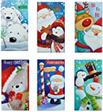 12 Christmas Money Wallets Self Seal Envelope Xmas Gift Cash Gift Card