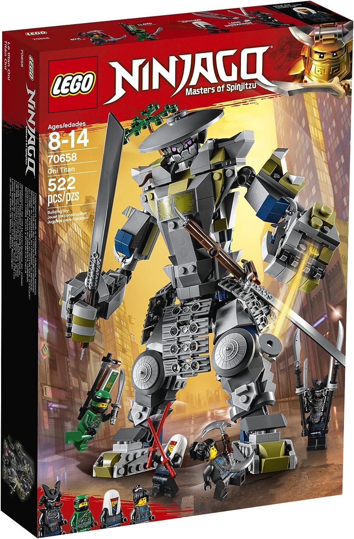 Amazon.com: LEGO NINJAGO Masters of Spinjitzu: Oni Titan ...