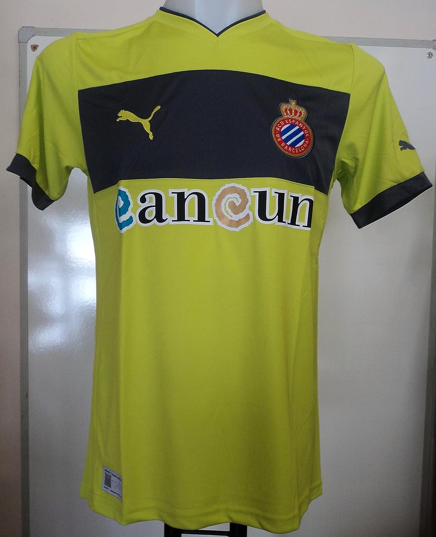 Camiseta de la camiseta del Espanyol 2012/13, verde: Amazon.es ...