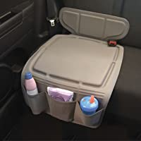 Protector de asiento de coche resistente para asientos traseros y delanteros de coche, color gris