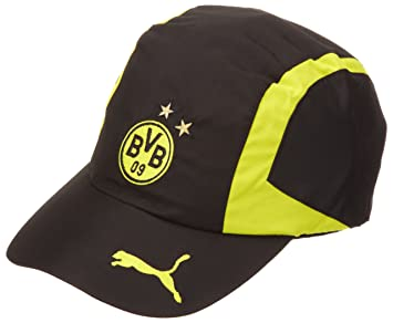Puma BVB Unisex Cap One Size black-blazing yellow Size One size ... df1f2c69b1b