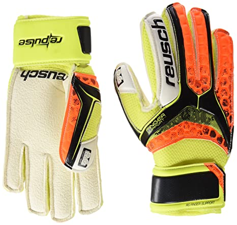 Pulse SG Finger Support Easy Fit Junior Guanti da Portiere Reusch Bambini Re Calcio