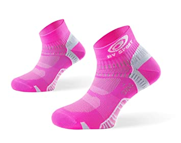 BV Sport - Calcetines Light One Roses fluos Calcetines Running: Amazon.es: Deportes y aire libre