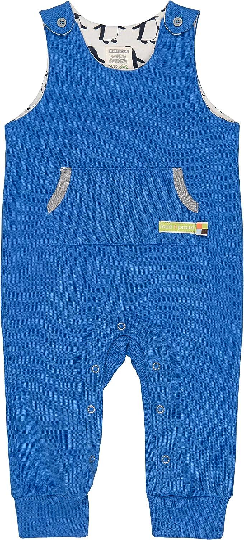 GOTS Zertifiziert Strampler proud Unisex Baby Uni aus Bio Baumwolle loud