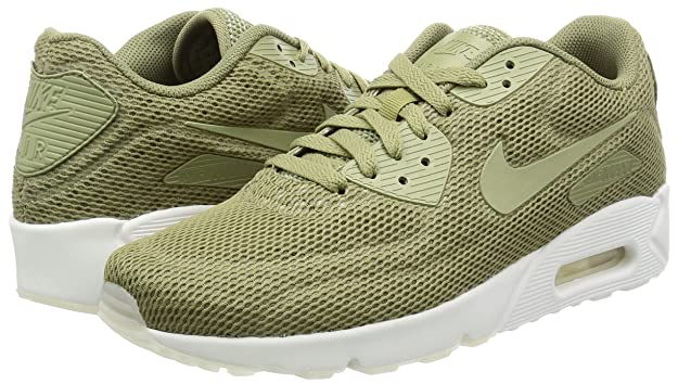 designer fashion 172a5 8547e Nike AIR MAX 90 Ultra 2. 0 Ultra BR Trooper Green Mens Breathable 898010  200  Buy Online at Low Prices in India - Amazon.in