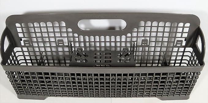 Exceptionnel Genuine KitchenAid Dishwasher Replacement Silverware Plastic Basket  W/Center Flap 8531288