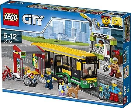 LEGO CITY - Estación de Autobuses, Juguete de Construcción de ...