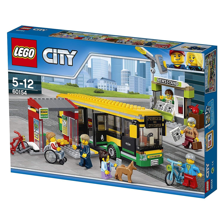 LEGO UK 60154 Bus Station Construction Toy
