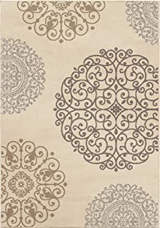 "product image for Orian Rugs Epiphany Fernandez Area Rug, 7'10"" x 10'10"", Ivory"