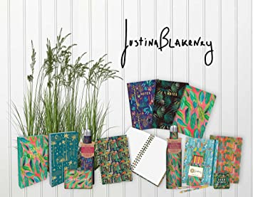 Studio Oh! Hardcover Medium Coptic-Bound Journal Available in 10 Designs, Justina Blakeney Cosmic Desert