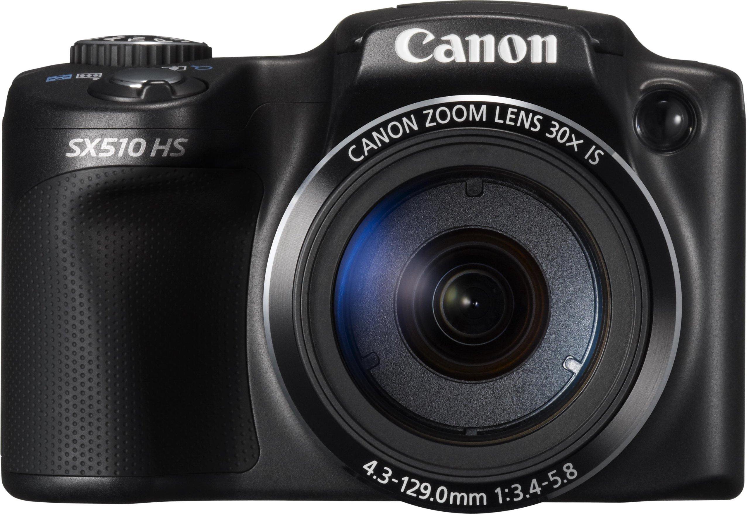 "Canon Powershot SX510 HS - Cámara compacta de 12.1 Mp (pantalla de 3"", zoom óptico 30x, estabilizador óptico), negro product image"