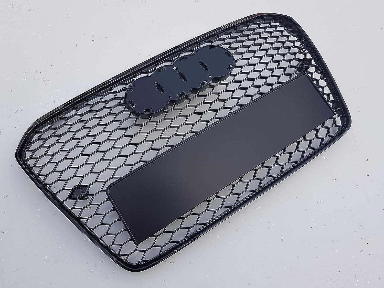 Rejilla de malla negra brillante para A5 8T B8 Facelift por 1A Auto Style Ltd