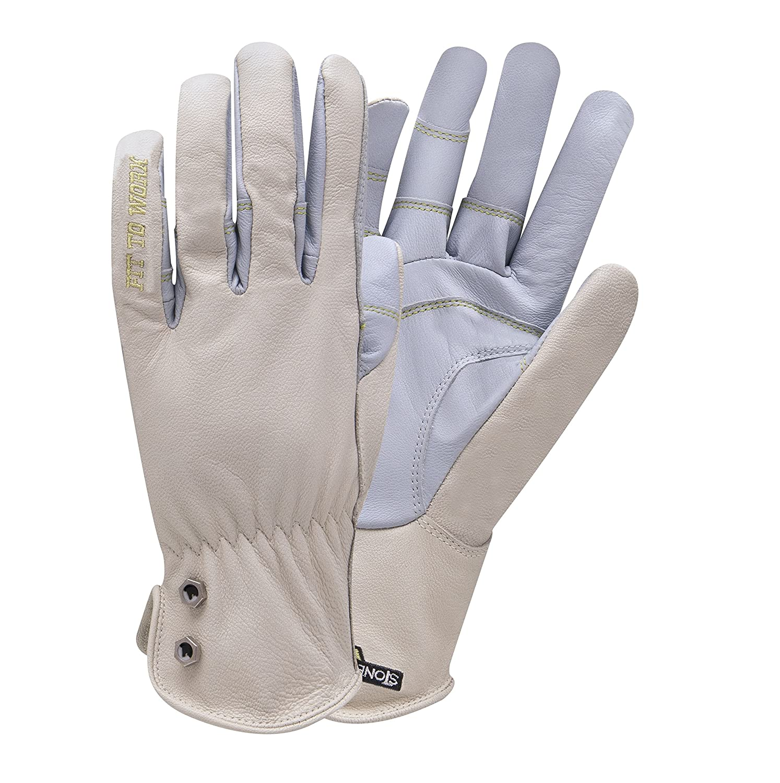 StoneBreaker Gloves Garden Pro Small Gardening Glove, Small, Light Blue, Women