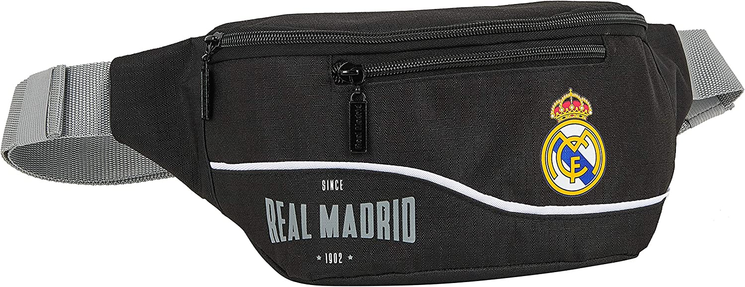 Safta 812024446 Riñonera Real Madrid CF: Amazon.es: Equipaje