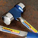 Estwing Lineman's Hammer - 40 oz Electrical Utility Tool with Smooth Face & Shock Reduction Grip - E3-40L