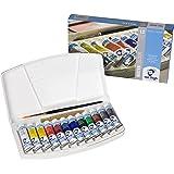 Talens Van Gogh Watercolor, 10ml, 12 Tube Pocket Box Set