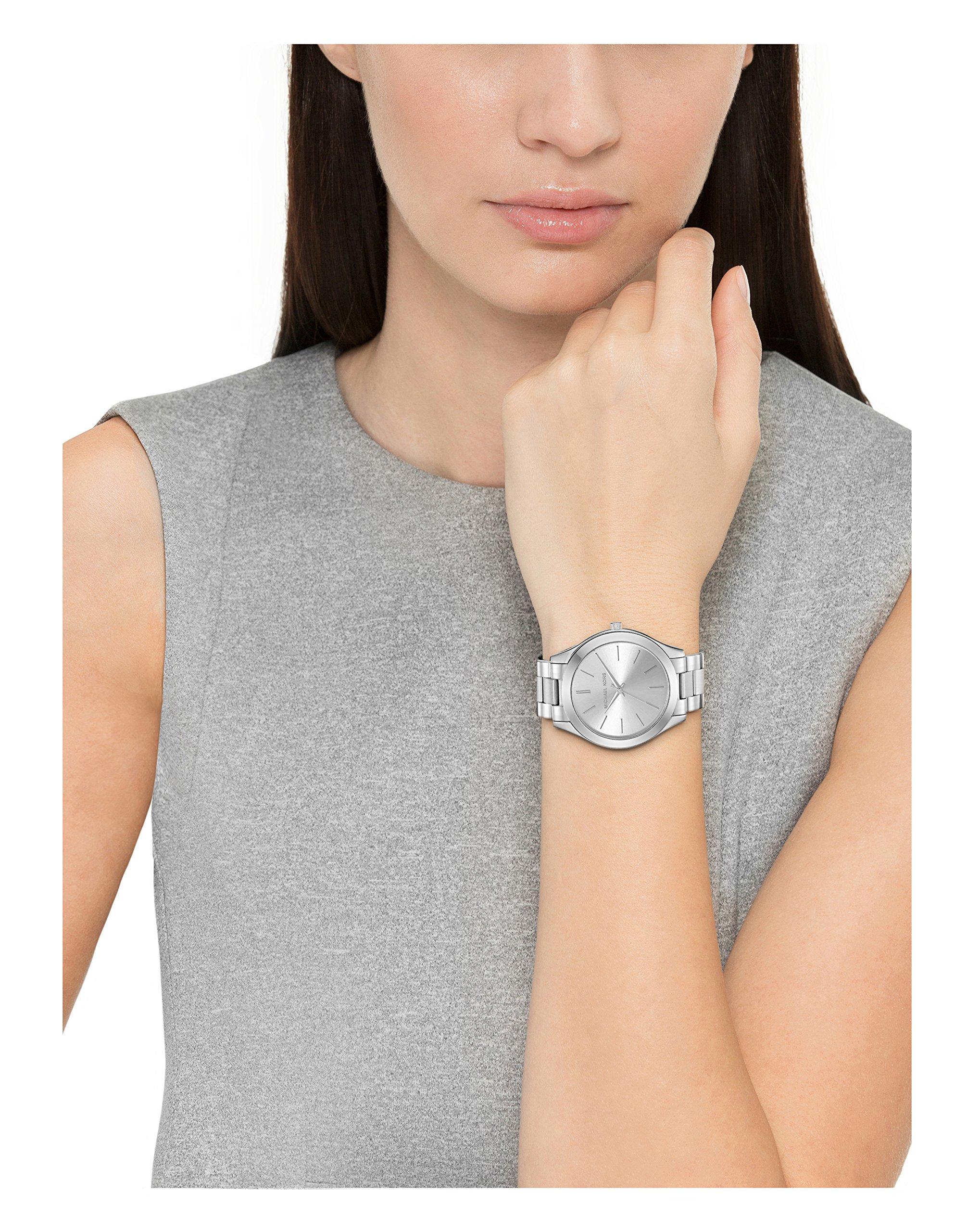 Michael Kors Women's Runway Silver-Tone Watch MK3178 by Michael Kors (Image #2)