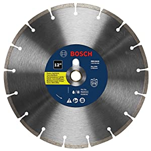 Bosch DB1241S 12-Inch Segmented Rim Diamond Blade