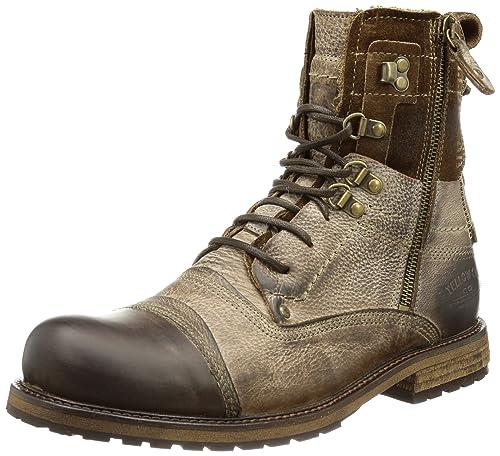 Zapatos marrones Yellow Cab para hombre uhigtIw