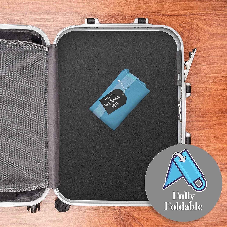 organizaci/ón del hogar lavander/ía para el Almacenamiento Elegante Luxelu Big Handy Bag Grande y Reutilizable etc Disponible en 6 Colores Impresionantes
