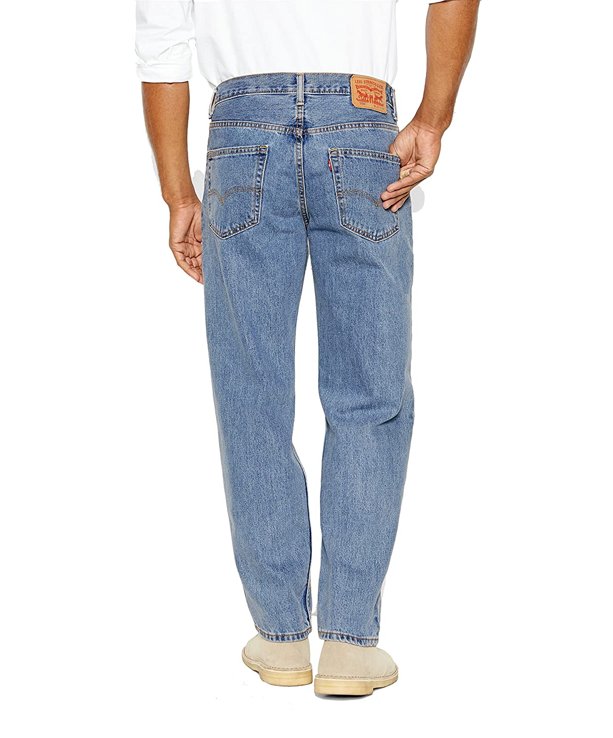 3a1b8d7b66a Levi s¿ Mens Men s 550¿ Relaxed Fit Light Stonewash 35 30 30 at Amazon Men s  Clothing store