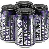 ブリュードッグ ジェットブラックハート 缶 ナイトロバニラミルクスタウト 330ml×4本 クラフトビール