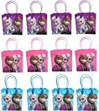 Disney Frozen Party Favor Goodie Small Gift Bags 12