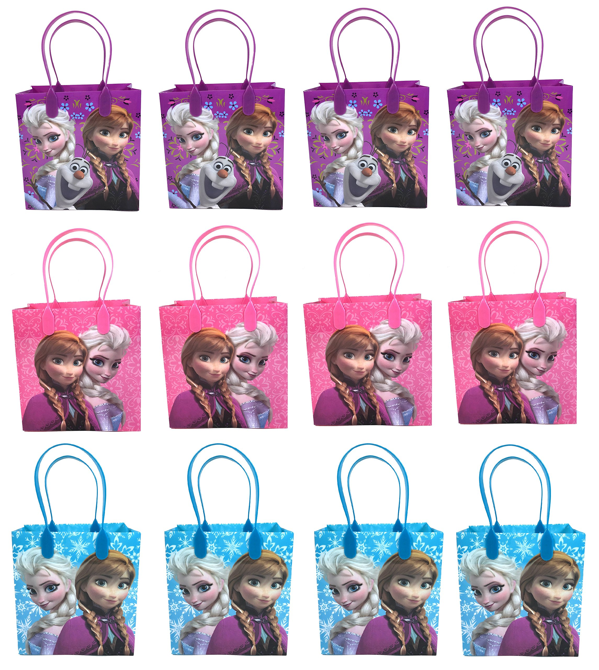 Disney Frozen Party Favor Goodie Small Gift Bags 12 by Disney