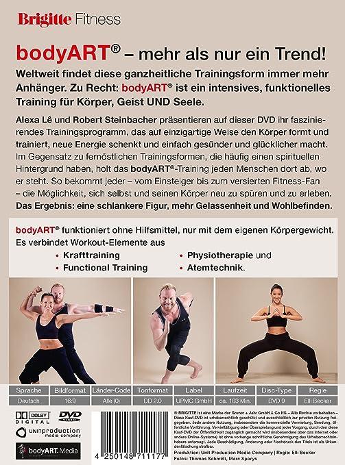 Amazon Com Brigitte Power Workout Das Bodyart Programm Fur Korper Und Seele Movies Tv